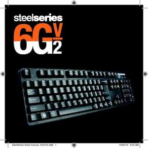 Currys: SteelSeries 6GV2 Gaming Keyboard @ £56 delivered using COUPON CODE