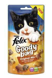 Felix goody bags box of 8 for £1.19 at Countrywide Farmers