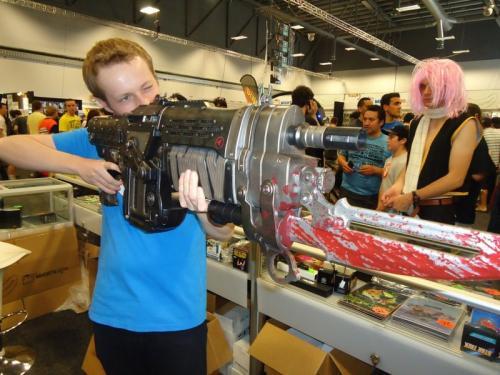Gears of War 3 Retro Lancer Life size replica £44.99 @ Play