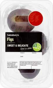 Fresh Figs (140g) (3 in a pack) was £2.50 now £1.00 @ Sainsburys