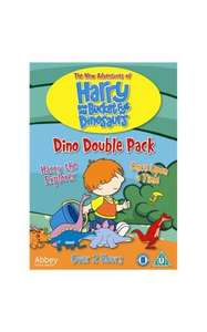 Harry And His Bucket Full of Dinosaurs: Dino Double Pack - DVD for £3.00 Delivered @ Asda Direct