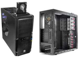 Thermaltake Dokker Mid Tower Case with built in HDD Docking Station (No PSU) - £31.19 @ Scan