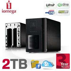 Iomega StorCenter-ix2 Dual Bay NAS server with 2TB and Gigabit connection..2TB £149.99 @ ibood
