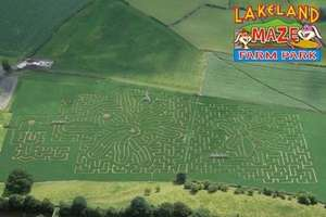 family day out prices £9-£11 @ lakelandmaze.co.uk with Groupon
