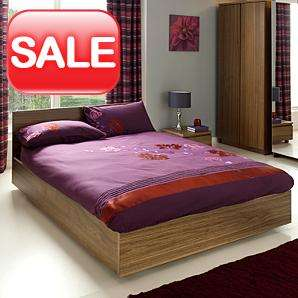 Strasbourg Bed Frame - King - Walnut Veneer @ Asda Direct £139.30
