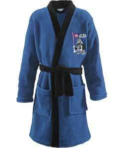 LEGO Star Wars Boys' Blue and Black Dressing Gown age 5 to 8 further reduced to £3.99, original price was £13.99 @ Argos. ( Red Harry potter version also £3.99 )