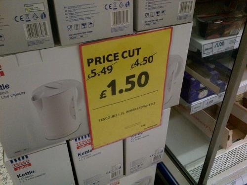 Tesco Value Kettle £1.50 in store