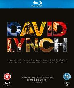 David Lynch Box Set (Blu-ray) 6 films £22.45 @ the HUT (USE CODE HUTPD10) Lost Highway, Eraserhead, Blue Velvet, Dune, Twin Peaks & Wild At Heart