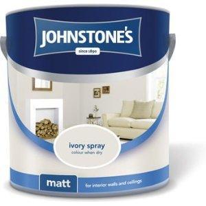 Johnstones 2.5 Ltr.Emulsion paints(Various Colours) £3.99 @ B&M Stores