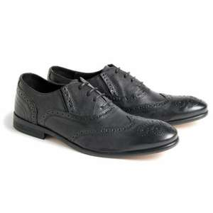 Hudson Black Leather Brogues £40 RRP £120 *Free Postage* (Loads more half price shoes) @ Pritchards Menswear