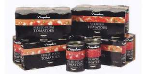 12 TIns of Napolina Chopped Tomatos @ Costco £4.39