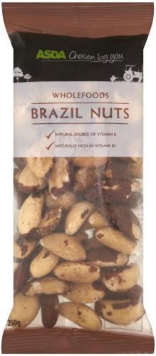200g whole Brazil nuts - £2 @ ASDA