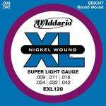 D'Addario EXL Guitar Strings 09-42  Strings Direct  £2.495