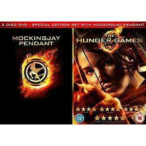 The Hunger Games - ASDA Exclusive - DVD - £14.97 - Includes Mockingjay Pendant, for any die-hard Hunger Games Fans! @ ASDA Direct