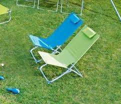 Blooma Curacao Beach Chair with cushion  for £10 R&C @ B&Q