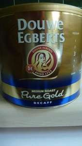 Douwe Egberts Pure Gold Decaf Coffee 500g £6.99 @ B&M Stores