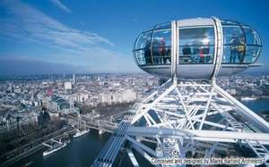 2 for 1 at the London Eye from MasterCard