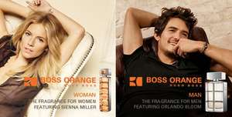 Free sample of boss orange fragrance (for man & Woman)