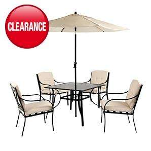Haversham 6 Piece Patio Set from Asda reduced to £150