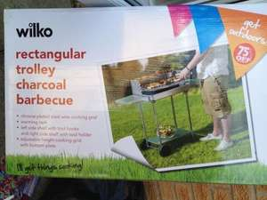 Wilko's Trolley BBQ 75% Off - £7 - In-store