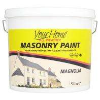 Asda Masonary Paint , Magnolia £4 for 5L instore