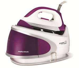 Morphy Richards Power Steam Elite 2400w Pressurised Steam Generator - 42220 Was:  £149.99  Price:  £89.99 With 7.5% discount code and TCB 15.15% available