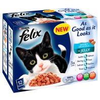 24 x Felix As good As it Looks Pouch ( 2x12 ) - £3 ... ASDA