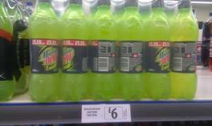 Mountain Dew Energy Drink.24 x 500ml only £6 @ Farmfoods