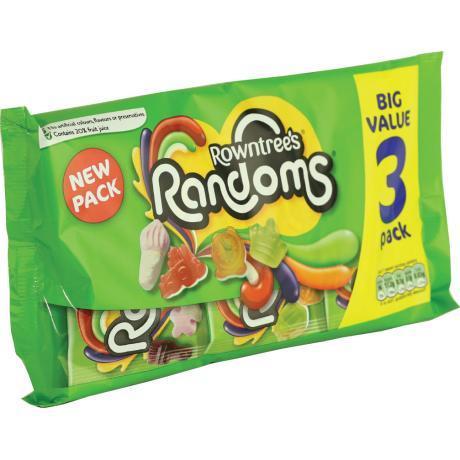 3pk of Rowntree's Randoms @ Herons 75p