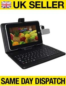 "NEW 7"" ANDROID 4.0 PC TABLET NETBOOK MID WiFi EPAD APAD TOUCHSCREEN £62.95 @ universalgadgets01-Ebay"