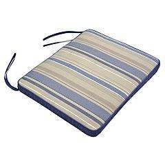 Sainsburys 2 Blue Stripe Reversible Seat Pads R&C @ Sainsburys £1.00