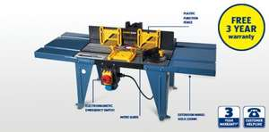Router Table £29.99 @ aldi