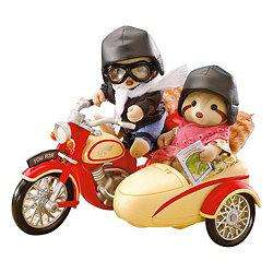SYLVANIAN FAMILIES MOTORCYCLE AND SIDECAR £12 @ Tesco