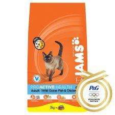 3kg Iams cat food - £6.99 instore at B&M