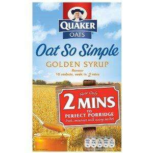 Quaker Oat So Simple Family Pack £2.00 Reduced from £2.99 @ Morrisons