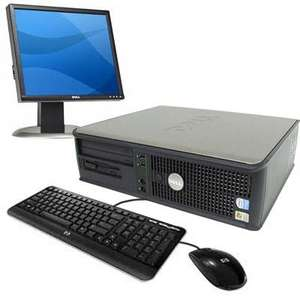 DELL GX620 PENTIUM DUAL CORE 3GHZ COMPLETE PC SYSTEM - 17 INCH DELL LCD MONITOR - £119.99 @ Bigpockets