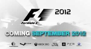 Pre-order F1 2012 this weekend from @ GraingerGames for only £25!
