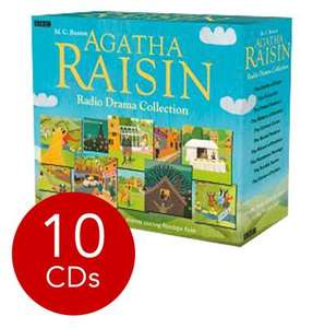 The Agatha Raisin Radio Drama Audiobook Collection - 10 Books on 10 CDs now £10.80 del @ The Book People (use codes EARLY10 & OFFERSEP)