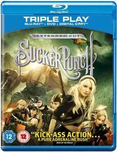 sucker punch triple play blu-ray (2 blu-ray, dvd & digital copy) £4.99/£5 @ grainger games