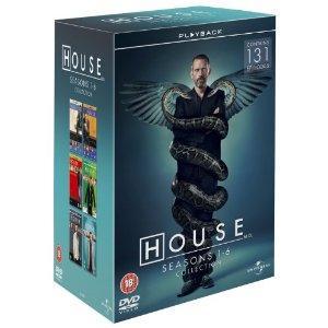 House - Season 1-6 [DVD] 34 Discs £37.97 @ Amazon