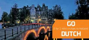 Mini Cruise offers to Amsterdam from Newcastle - 2 for 1 from £79 @ DFDS Seaways
