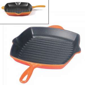 Le Creuset Cast Iron Grill Pan at Lakeland £49.99 with voucher and free express delivery and lifetime guarantee