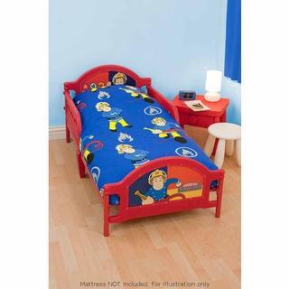 Fireman Sam Toddler Bed, B&M, £29.99!