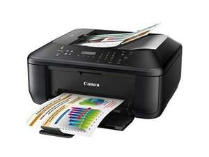 Canon PIXMA MX375 All-in-One Multifunction Inkjet Printer Scanner Fax Copier including cartridges at Ebay Dabs Outlet for £29.98 with free delivery