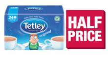 Tetley 240 Tea Bags - £2.99 ... Co op