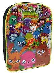 Sainsburys - School Bags 50% off - Moshi Monster Bag 75% off £2.25