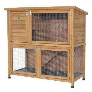 Rabbit Shack Double Hutch With Under Run  for £3.41 and £2.07 p&p @ Amazon - Jackson's Art Supplies.