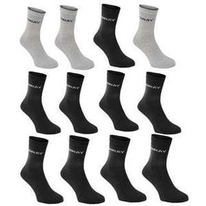 One Day Offer - 90% off 12 pack of Donnay Socks - £2.99 @ Sports Direct