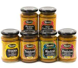Nazirs Curry Pastes - 99p @ B&M