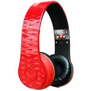 Fanny Wang On-Ear Headphones (Pink or Red) - £67.19 Today Only @ Scan